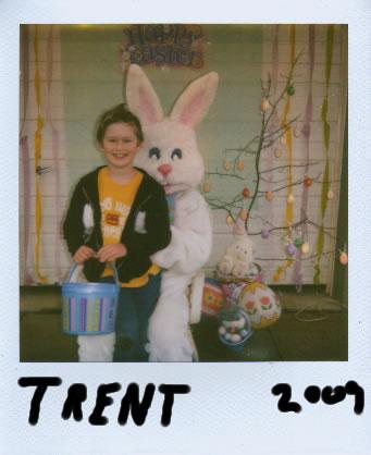 Last Polaroid? Trent, Easter 2009